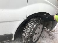 Накладки на колесные арки (4 шт,пластик) - Renault Trafic (2001-2014)