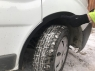 Накладки на колесные арки (4 шт, пластик) - Opel Vivaro (2001-2014)