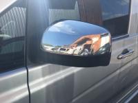 Накладки на зеркала 2010-2015 (2 шт, нерж.) - Mercedes Vito W639