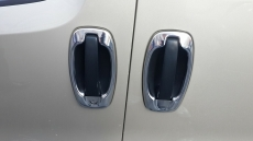 Окантовка дверной ручки (4 шт, нерж) - Peugeot Bipper (2008+)