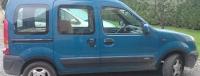 Накладки колесных арок (к-т.пластик) - Renault KANGOO (1998-2008)