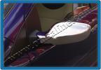 Накладки на зеркала (2 шт., нерж.) - Kimo (2008+)