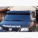 Козырек на лобовое стекло (на кронштейнах) - Volkswagen T5 Transporter (2003+)