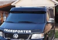 Козырек на лобовое стекло (на кронштейнах) - Volkswagen T5 рестайлинг (2010+)