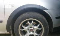 Накладки колесных арок (4шт.пластик) -  Seat TOLEDO (1998-2005)