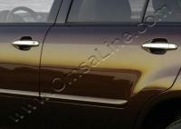 Накладки на ручки (4 шт., нерж.) - Lexus RX (2003-2009)