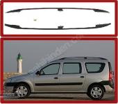 Релинги черные (пласт. крепл.) - Renault Logan MCV(2008-2013)