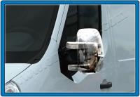 Накладки на зеркала (2 шт, пласт.) - Opel Movano (2010+)