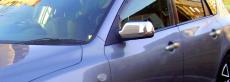 Накладка на зеркала (2 шт, нерж.) - Mazda 3 (2003-2010)