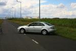 Накладки с нержавейки на колесные арки (4шт.) - Mazda 6 (2002-2008)