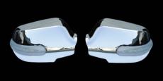 Накладки на зеркала с LED (2 шт, пласт) - Toyota Corolla (2007-2013)
