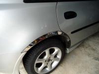 Накладки с нержавейки на колесные арки (4шт.) - Mazda 323