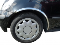 Накладки с нержавейки на колесные арки (4шт.) - Volkswagen TOURAN (2010-2015)