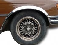 Накладки с нержавейки на колесные арки (4шт.) - Mercedes W116 (1972-1980)