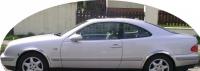 Накладки с нержавейки на колесные арки (4шт.) - Mercedes CLK W208