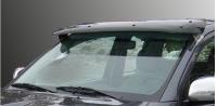 Козырек на лобовое стекло (на кронштейнах) - Ford Custom (2013+)