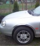 Накладки с нержавейки на колесные арки (4шт.) - Ford MONDEO (1996-2000)