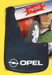 Брызговики (2 шт, резина) - Opel Movano (2010+)