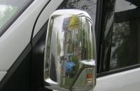 Накладки на зеркала (2 шт, нерж) - Mercedes Sprinter W906