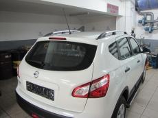 Рейлинги Хром - Nissan Qashqai (2010-2014)