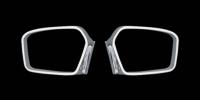 Обводка зеркала (2 шт, пласт) - Ford Focus II (2005-2008)