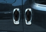 Окантовка дверных ручек (4 шт, нерж) - Doblo III nuovo (2010+)