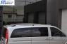 Рейлинги Хром (пласт. ножки) - Mercedes Vito W639