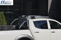 Рейлинги (с поперечинами) - Mitsubishi L200 (2007-2015)