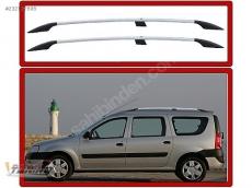 Релинги Хром (пласт. крепл.) - Renault Logan MCV(2008-2013)