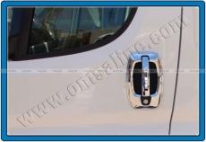 Накладки на ручки (нерж.) - Peugeot Boxer (2006-2013)