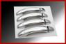 Накладки на ручки (4 шт, нерж) - Volkswagen Touareg (2002 - 2010)