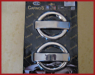 Накладки на ручки (4 шт, нерж) - Doblo II (2005+)