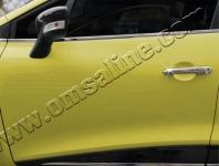 Накладки на дверные ручки (4 шт, нерж) - Renault Clio-Symbol IV (2012+)