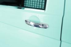 Накладки на ручки (нержавейка) - Volkswagen Caddy (2004-2010)