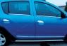 Накладки на ручки (4 шт., нерж.) - Renault Sandero (2013+)