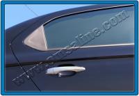 Накладки на дверные ручки (4 шт, нерж.) - Citroen C-Elysee (2012+)