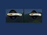 Накладки на ручки (2 шт, нерж) - Volkswagen EOS (2011+)
