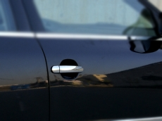 Накладки на ручки (4 шт, нерж) - Volkswagen Bora (1998-2004)