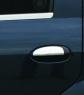 Накладки на ручки (4 шт, нерж.) - Renault Logan II (2008+)