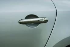 Накладки на ручки (4 шт., нерж.) - Renault Fluence (2009+)