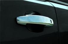 Накладки на ручки (4 шт, нерж) - Opel Astra H (2004-2013)