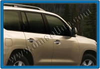 Накладки на ручки (4 шт., нерж.) - Lexus LX570