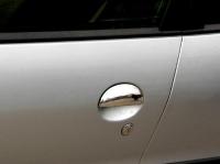 Накладки на ручки (2 шт, нерж) - Toyota Aygo (2007+)