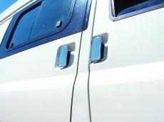 Накладки на ручки (нерж) - Ford Transit (2003-2014)