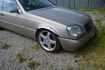 Накладки с нержавейки на колесные арки (4шт.) - Mercedes S-KLASS W140/C140