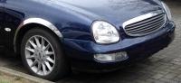 Накладки с нержавейки на колесные арки (4шт.) - Ford SCORPIO