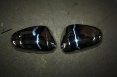 Накладки на зеркала (2000-2010, 2 шт, нерж) - Seat Leon