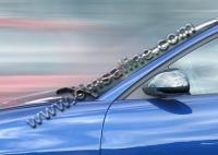 Накладки на зеркала (2000-2002, 2 шт, пласт) - Seat Ibiza
