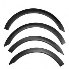 Накладки на арки (4 шт, пластик) - Peugeot Partner Tepee (2008+)
