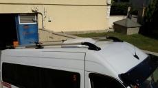 Рейлинги Shark (2 шт, алюм) - Mercedes Sprinter W901